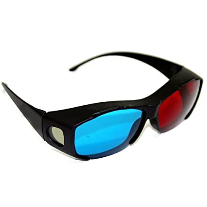 dd98316e53 Sonline Gafas 3D Anaglifo 3D Vision - Hechas para Encajar en Gafas Graduadas