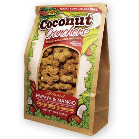 K9 Granola Factory Papaya and Mango Coconut Crunchers, My Pet Supplies