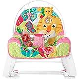 Cadeirinha Tigre Rosa, Fisher Price, Multicolorido