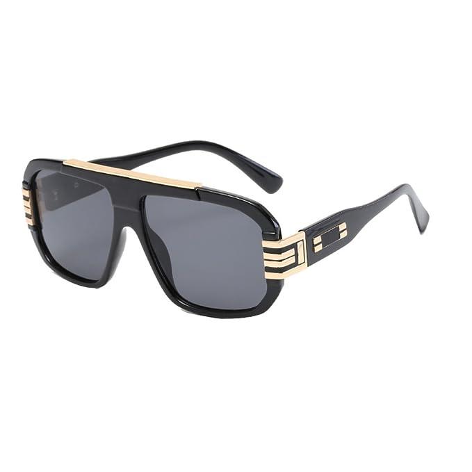 GTYMFH Gafas De Sol Grandes Marco De La Personalidad De Los ...