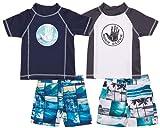 Body Glove Toddler Baby Boys' Rash Guard Set - 4