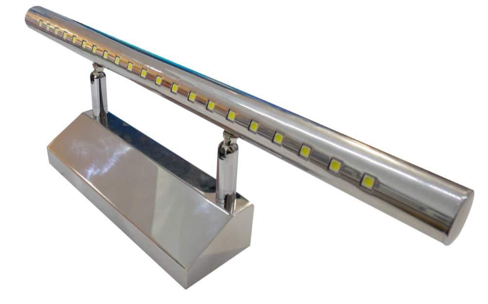 (LA) Aplique baño cromado 40cm LED 220V color blanco frio 6500K [Clase de eficiencia energética A++] Led Atomant