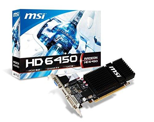 51OKMzYIl6L - MSI AMD Radeon HD 6450 2GB DDR3 VGA/DVI/HDMI Low Profile PCI-Express Video Card R6450-2GD3H/LP