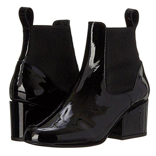 8010FD 8010FD Mostra del del Gli Fatti QIAOShoe Inverno Lavoro Caviglie delle a Impermeabili Autunno Talloni Caricamenti amp;Q di Donne Black Stivali Caviglia degli delle Alti Stivali Q Booties Stivaletti Posto a Z4AUpZ