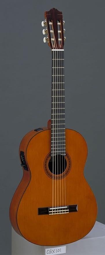 Yamaha CGX101A Elettrificata Guitarra Clásica: Amazon.es ...
