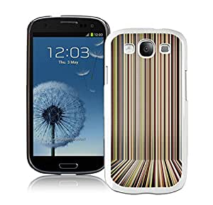 New Antiskid Designed Cover Case For Samsung Galaxy S3 I9300 With Paul Smith 6 White Phone Case