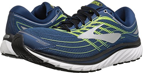 Brooks Men's Glycerin 15 Blue/Lime/Silver 11 D US by Brooks