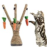 Etbotu Creative Cat Tree-Climbing Toy Tooth Care Toy with Simulate Carrot Pet Supply