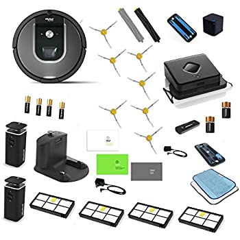 Amazon Com Irobot Roomba 960 Amp Irobot Braava 380t Robotic