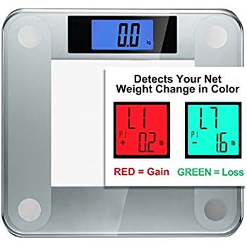 Ozeri Precision II Digital Bathroom Scale (440 lbs Capacity), with Weight Change Detection Technology & StepOn Activation
