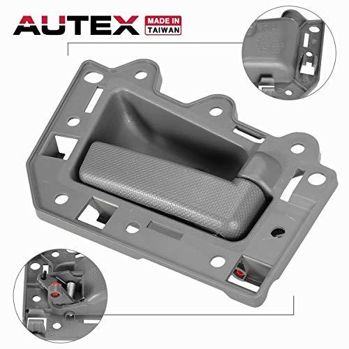 - AUTEX 82139 Interior Door Handle Front Right Compatible with Jeep Grand Cherokee 2005 2006 2007 2008 2009 2010 Door Handle Passenger Side
