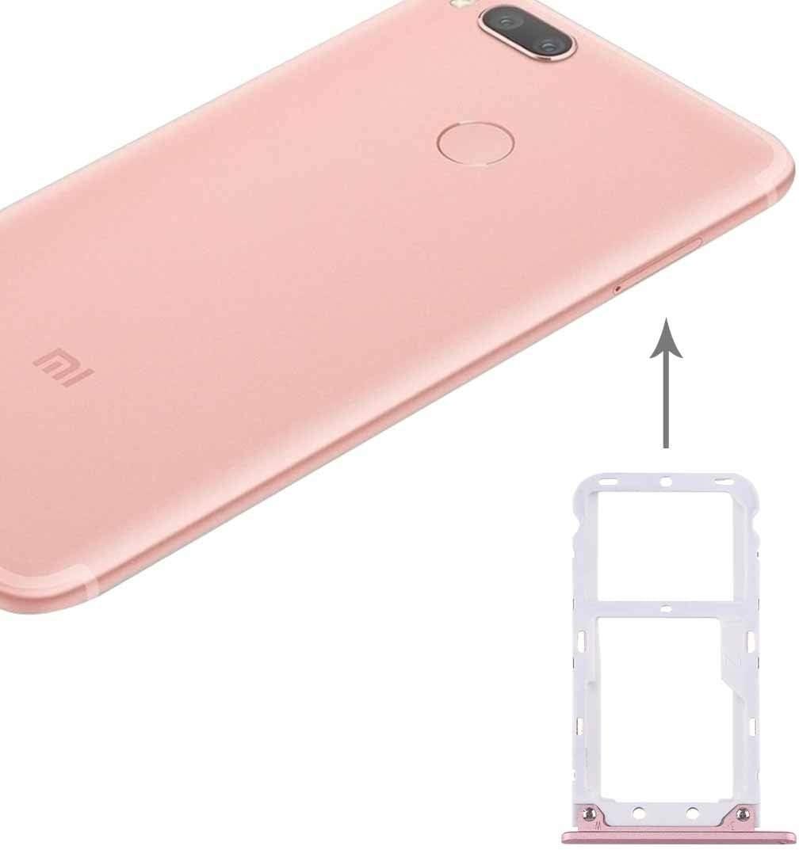 Chen XI For Xiaomi Mi 5X / A1 SIM y SIM/Bandeja de Tarjeta de TF (Rojo) (Color : Rose Gold)
