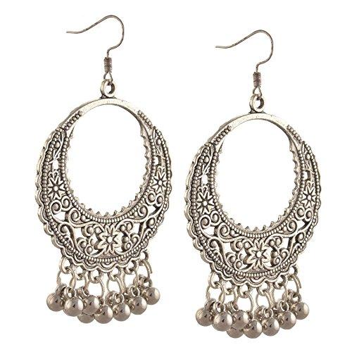 Zephyrr Jewellery Lightweight Silver Hook Earrings