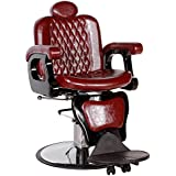 PERSIA Contemporary Hydraulic Reclining Barber Equipment Chair BC-21BU