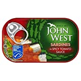 John West Sardines in Spicy Tomato Sauce (120g) - Pack of 2