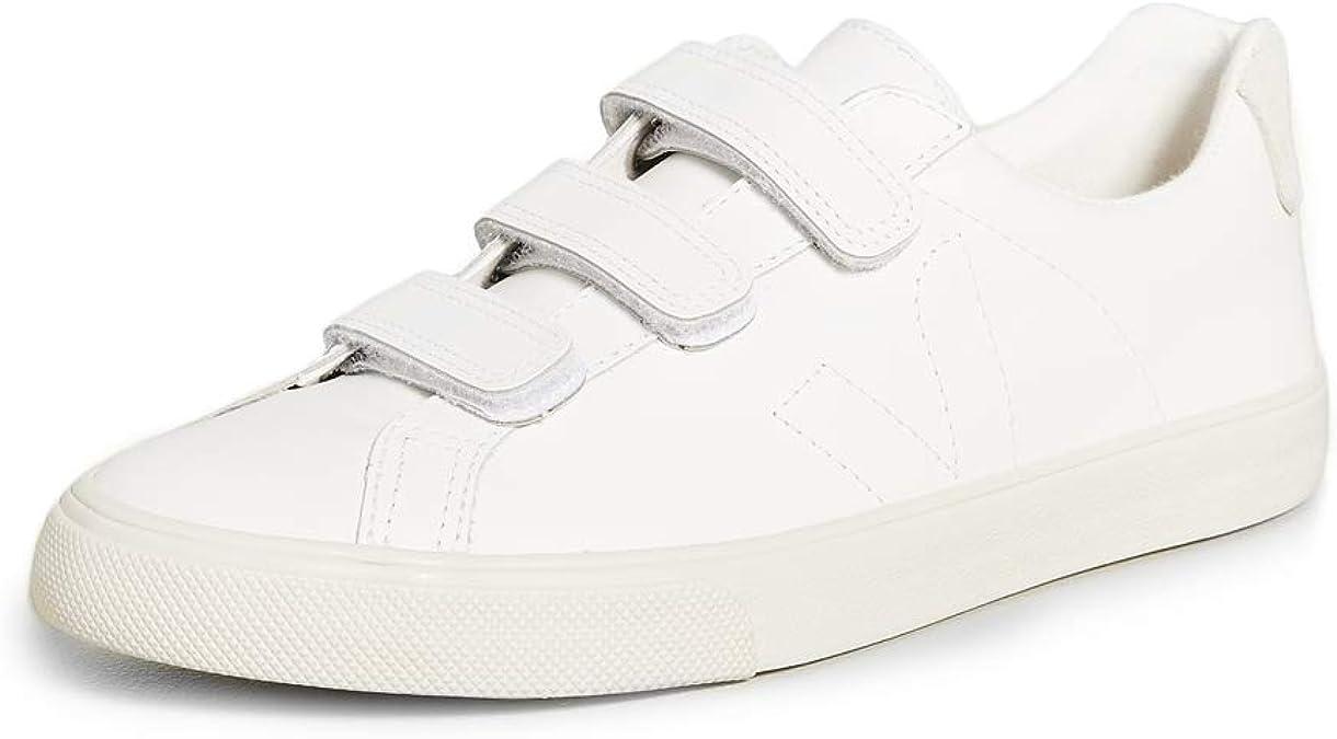Corbata Persona especial bestia  Amazon.com | Veja Men's Esplar Velcro Leather Sneakers | Fashion Sneakers
