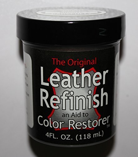 - Black - Leather Refinish an Aid to Color Restorer