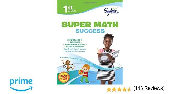 1st Grade Super Math Success: Activities, Exercises, and Tips to ...