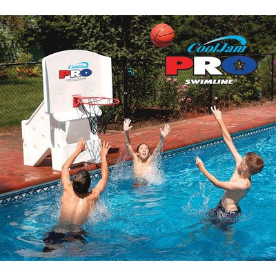 (Cool Jam Pro Poolside Basketball in White)