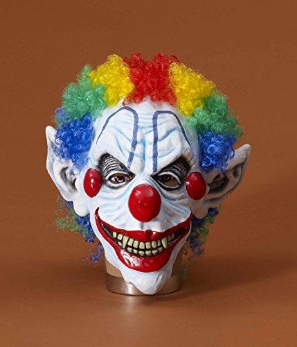 Clown Masks For Sale - Sinister Mr. Clown Costume Mask