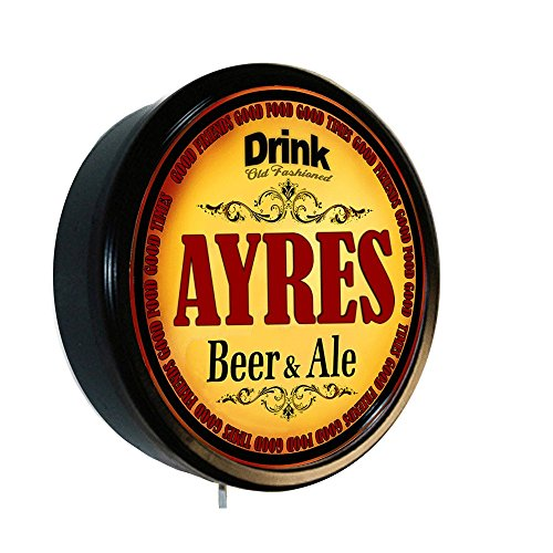 AYRES Beer and Ale Cerveza Lighted Wall Sign