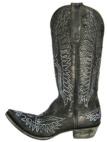 390e2872a6f Amazon.com | Old Gringo Eagle Swarovski Womens Boots - L443-3 - 9.5 ...