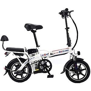 51OKRy08TQL. SS300 Drohneks Bicicletta elettrica Pieghevole 48V 32Ah Bici elettrica 14 Pollici Bici elettrica Rimovibile agli ioni di Litio…