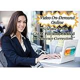 MyGMATTutor: Sentence Correction Pill Study Method (Video OnDemand + eBook) offers