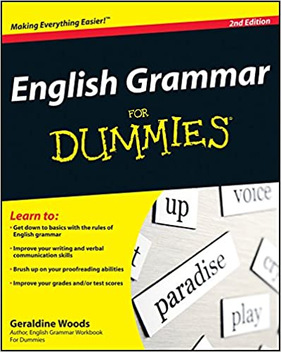 english grammar for dummies geraldine woods  english grammar for dummies geraldine woods 9780470546642 com books