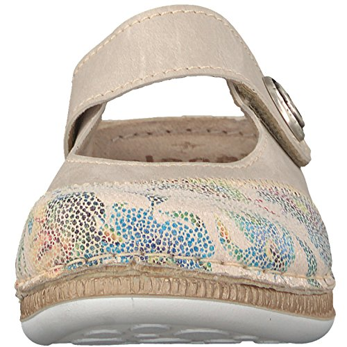 Jana Ladies 27209 Muli Multicolore (beige / Fiore)