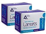 Active Forward 30 Gauge Sterile Blood Lancets, 200 Count