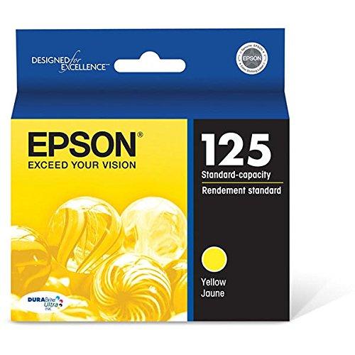 Epson America T125420 Yellow DURABrite 125 Ultra I