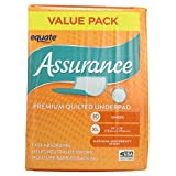 Assurance Premium Quilted Underpad, Value Pack, XL 30 COUNT (3 Pack)