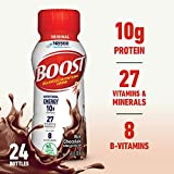 Boost Original Complete Nutritional Drink, Rich Chocolate, 8 Fl Oz Bottle, 24 Count (Packaging May Vary)