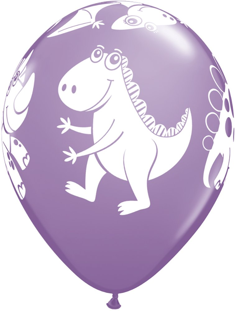 11 Pioneer Balloon Company 40201.0 040201 Cute /& Cuddly Dinosaurs Assorted