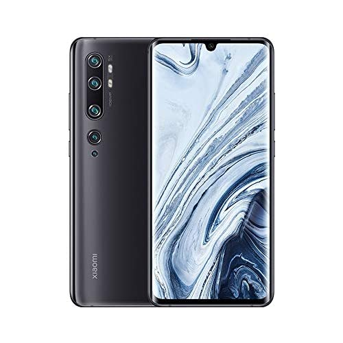 chollos oferta descuentos barato Xiaomi Mi Note 10 Smatphone 6GB RAM 128GB ROM Pantalla Curva 3D de 6 47 NFC Multifuncional 108MP AI Penta Cámara Trasera Versión Global Negro