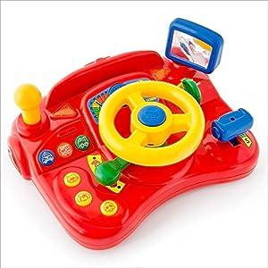 Children's Driving Simulator With Steering Wheel ...