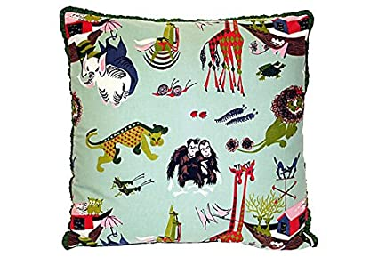 Amazon Com Whimsical Noah S Ark Pillow Vpl00071 Home Kitchen