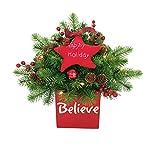 J & J Seasonal Hh17-mdtp1-13 Prelit Christmas Centerpie, 13''