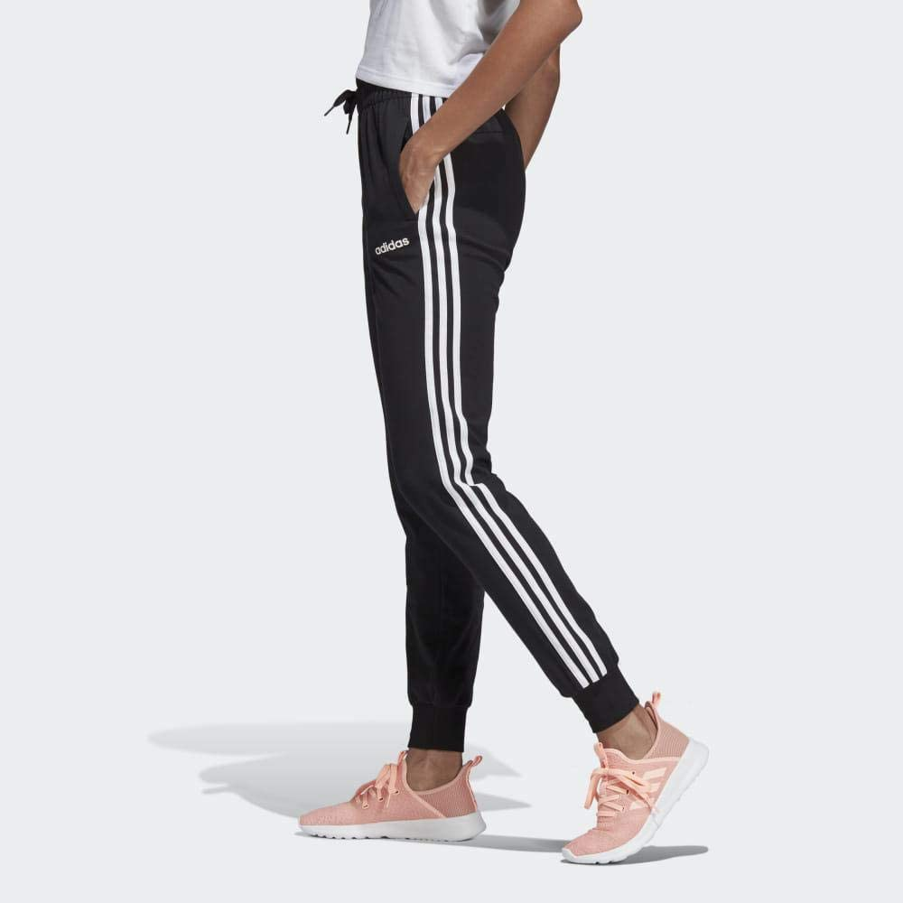 adidas W E 3S SJ Pantalón, Mujer, Negro/Blanco, XS/S: Amazon.es ...
