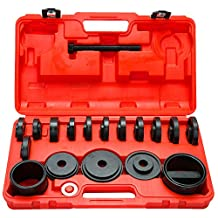 8milelake 21pc FWD Front Wheel Tool Kit Drive Bearing Removal Adapter New Puller Pulley Tool Kit