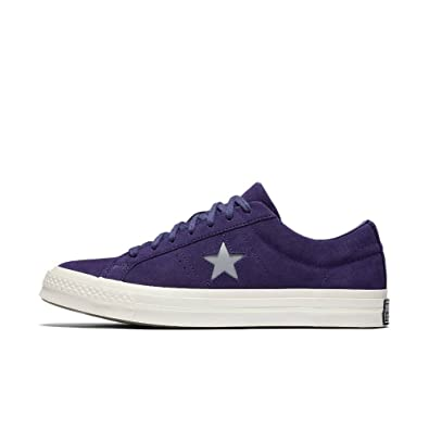 88b2d61400e113 Converse One Star Ox Midnight Indigo Silver Egret (10 US Mens  12