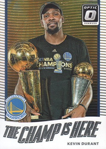 2017-18 Donruss Optic Basketball The Champ is Here #1 Kevin Durant Golden State - State Champs Basketball