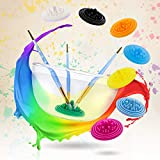 Paint Puck Paint Brush Cleaner (3-Pack) Silicone