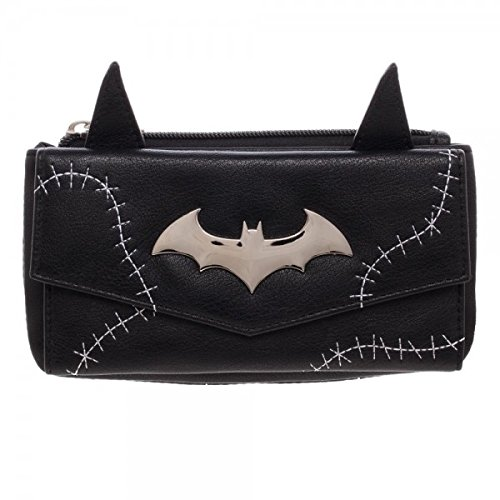 DC Comics Batman / Catwoman Jrs. Flap Wallet w/ Ears POP CULTURE GW4SSZBTM
