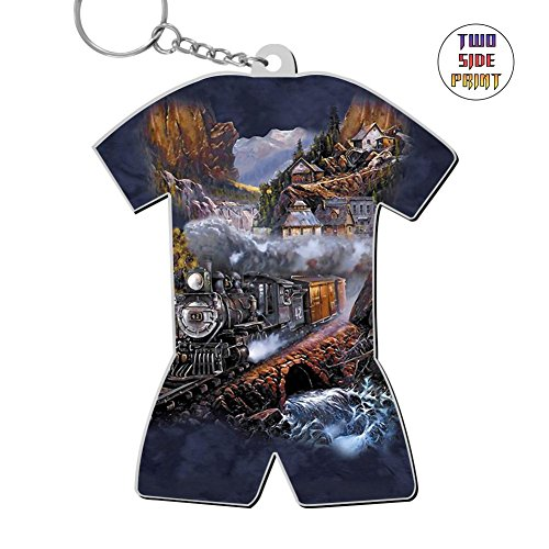 Cool Keychain Silver Belle Run Keyring World Cup Polo Shirt Logo Key Ring Key Fob Alloy Nice Gift