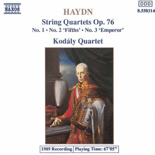 (Haydn: String Quartets Op. 76, Nos. 1-3)