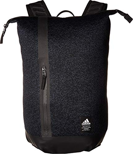 adidas Unisex Primeknit Static Backpack, Pixel Knit Night Grey/Black, ONE SIZE