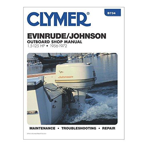 Clymer J/E 1.5 125HP 56 72 Manual