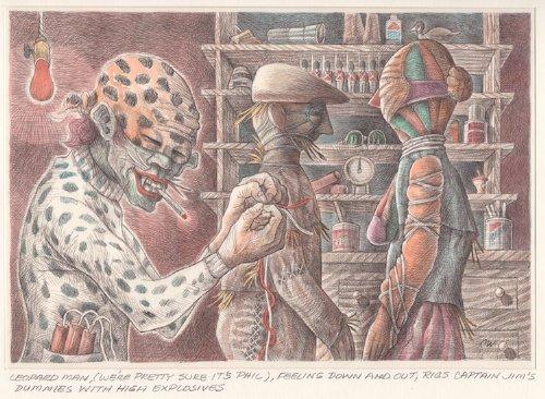 [Leopard Man, We're Pretty Sure It's Phil…] (Strip Sure Pop)